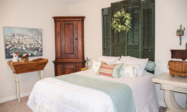 Something New From Something Old: Adding Character to a Guest Room