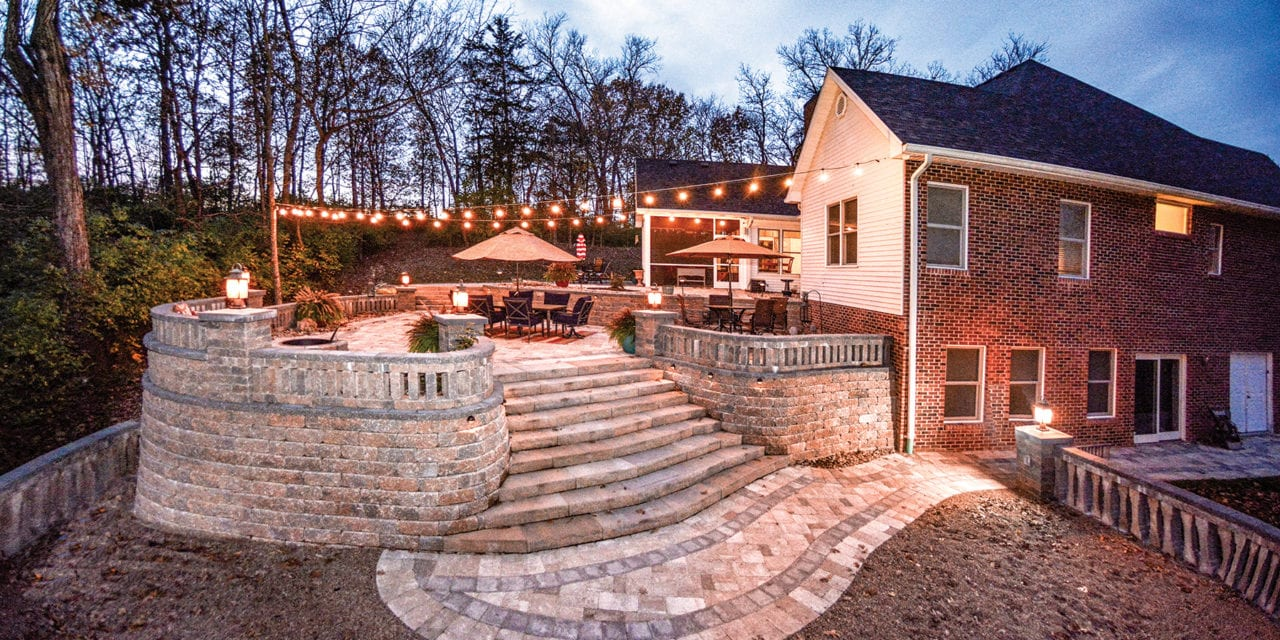 Stepping Forward in Outdoor Entertaining